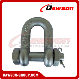 DS363 High Strength Bolt Type Dee Shackle for Lifting