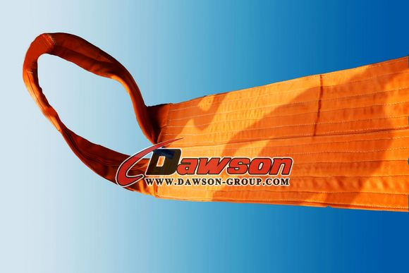 WLL 50 Ton Polyester Heavy Duty Webbing Slings - Lifting Slings