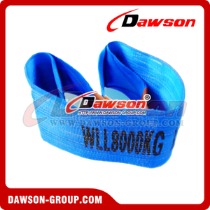 WLL 8 Ton Polyester Webbing Slings - Lifting Slings AS 1353