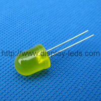 10 mm Round Yellow LED Lamp