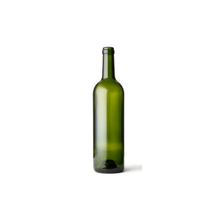 Green Color Glass Wine Bottles