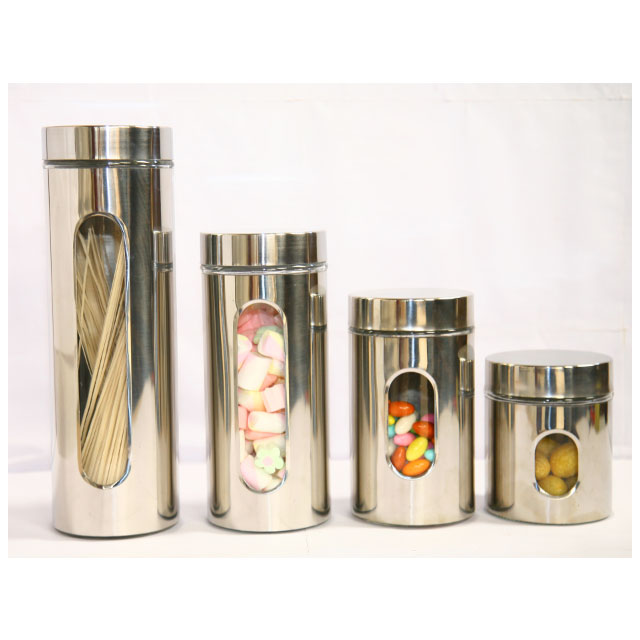 Glass Canister Set