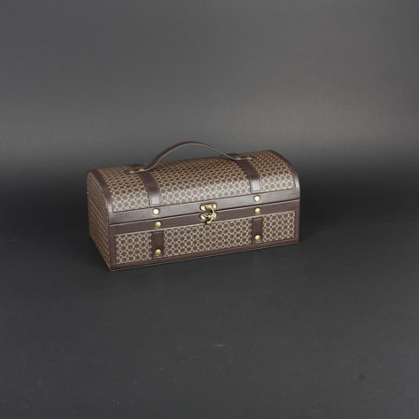 Wine Box Manufacturer PU leather luxury fancy wine bag