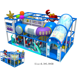 Commercial indoor playground