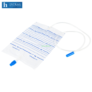 Disposable Urine Bag With Twist Turn Valve