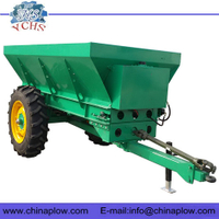 Tractor tow hehind manure spreader machine