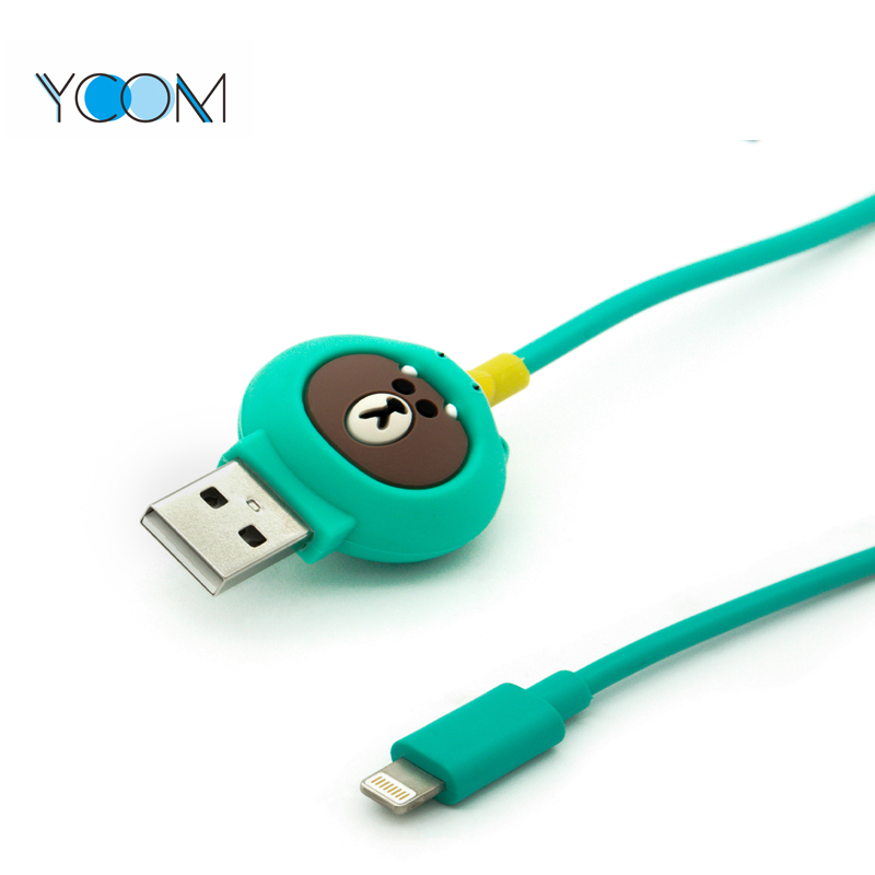 Cartoon Design High Quality USB Lightning Cable