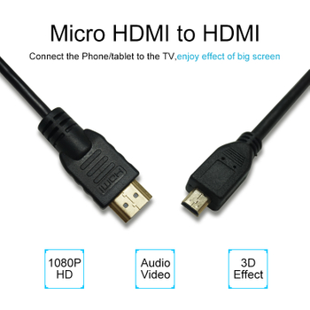 High Speed Micro USB To HDMI Cable Construction