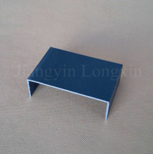 Blue Powder Coated Aluminum Profile for Decoration