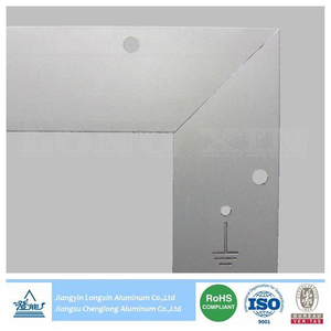 Sliver Anodized Aluminium Profile for Solar Panel