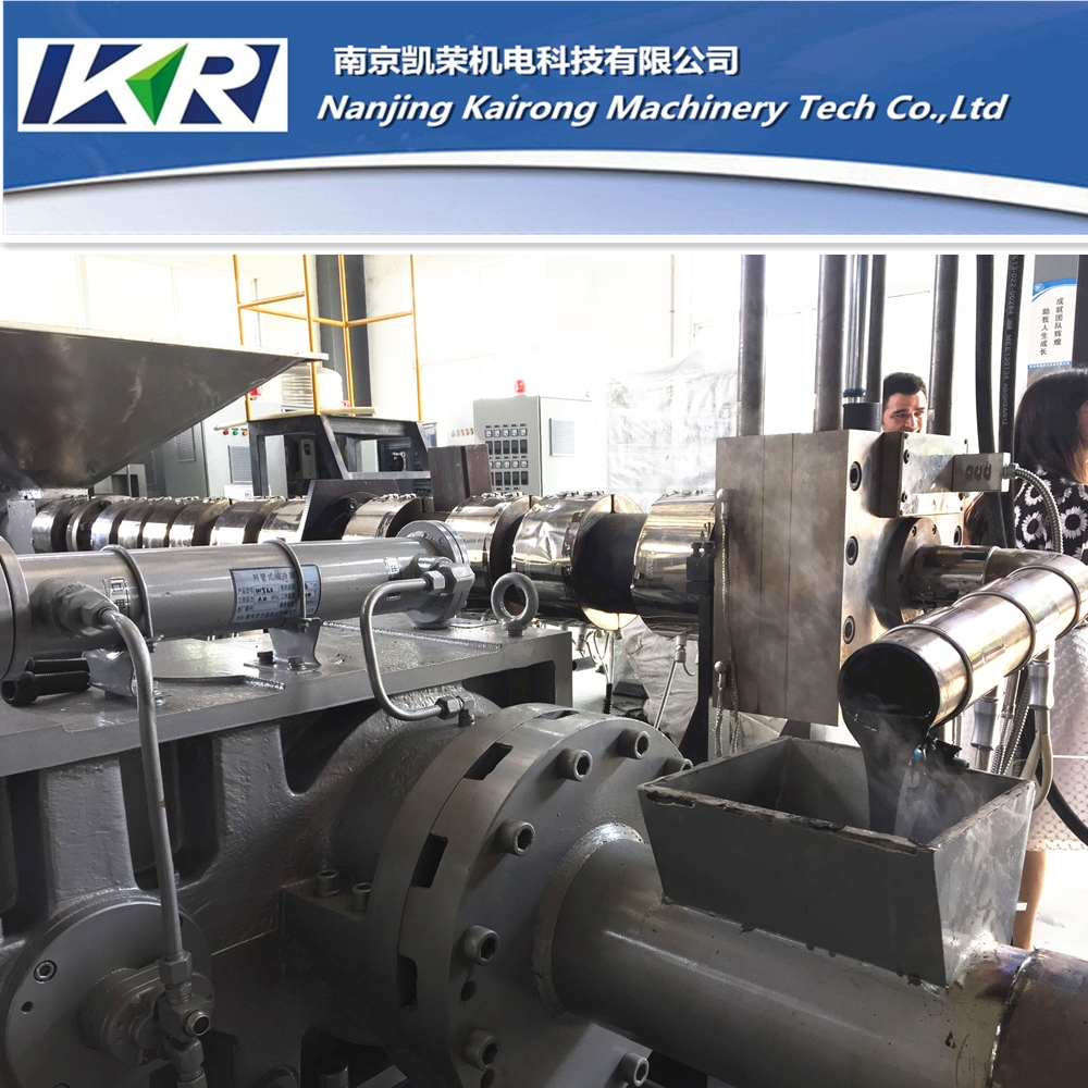 PES PET PP PA6 Recycling Pellet Making Extruder Plastic Compound Machine