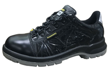 New design PU injection steel toe work shoes for men