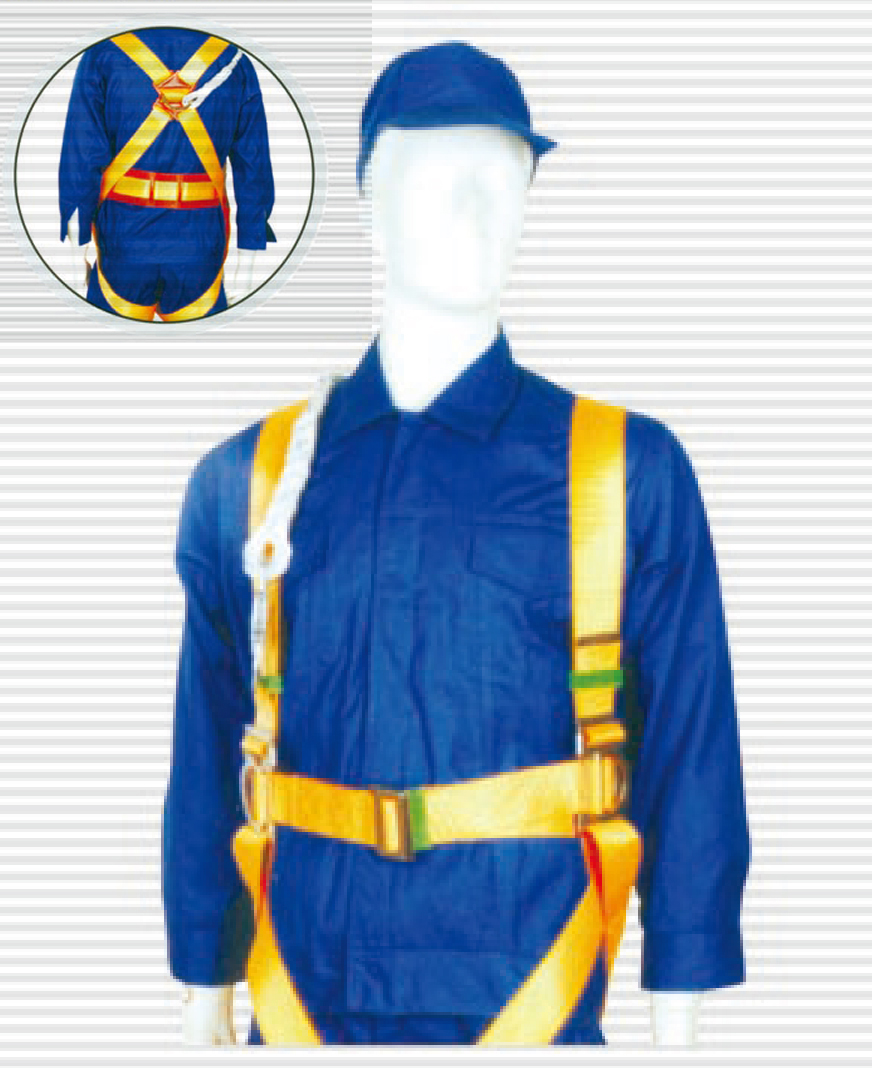 Full body protection safety work harness