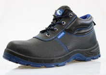 Deltaplus sole split embossed leather work safety shoe