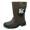 W1002-BR Leather Welding Work Boots for Welder