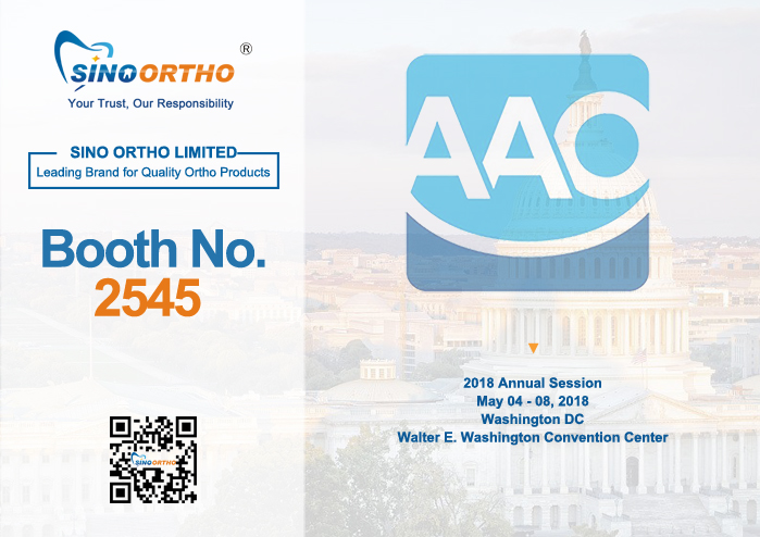 AAO 2018 in Washington D.C May 5-8th 2018