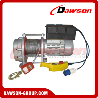 200kg 400kg Crane Electric Windlass, AC Electric Windlass with Steel Wire Rope