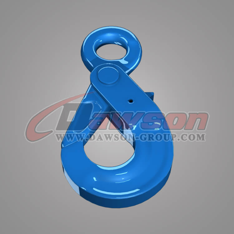 Grade 100 European Type Eye Self-Locking Hook, Alloy Steel Eye Selflocking Hook - China Supplier, Exporter