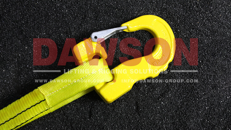 G100 Grade 100 3T Web Sling Hook, Synthetic Alloy Round Sling Hook - Dawson Group Ltd. - China Manufacturer, Factory