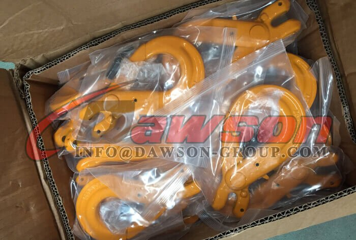 G80 European Type Clevis Self-Locking Hook for Lifting Chain Slings - Dawson Group Ltd. - China Supplier