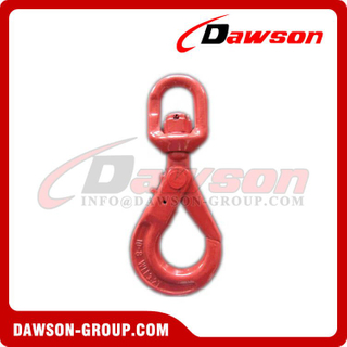 DS755 G80 Improved Swivel Selflock Hook for Lifting Chain Slings