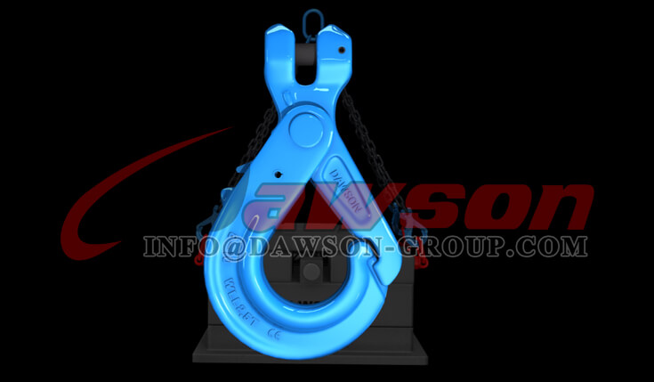 Application of G100 Special Clevis Self-locking Hook with Grip - China Supplier