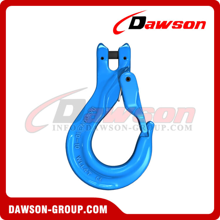 G100 Clevis Sling Hook with Cast Latch - Dawson Group - China Supplier