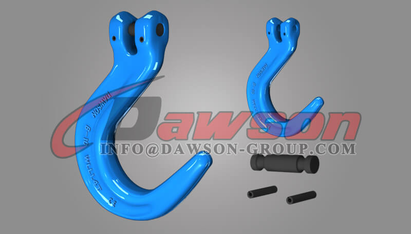G100 Clevis Foundry Hook, Grade 100 Forged Steel Clevis Type Large Opening Hook - Dawson Group - China Manufacturer Supplier