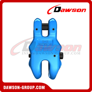 DS1057 G100 Forged Alloy Steel Clevis Chain Clutch with Safety Pin for Adjust Chain Length