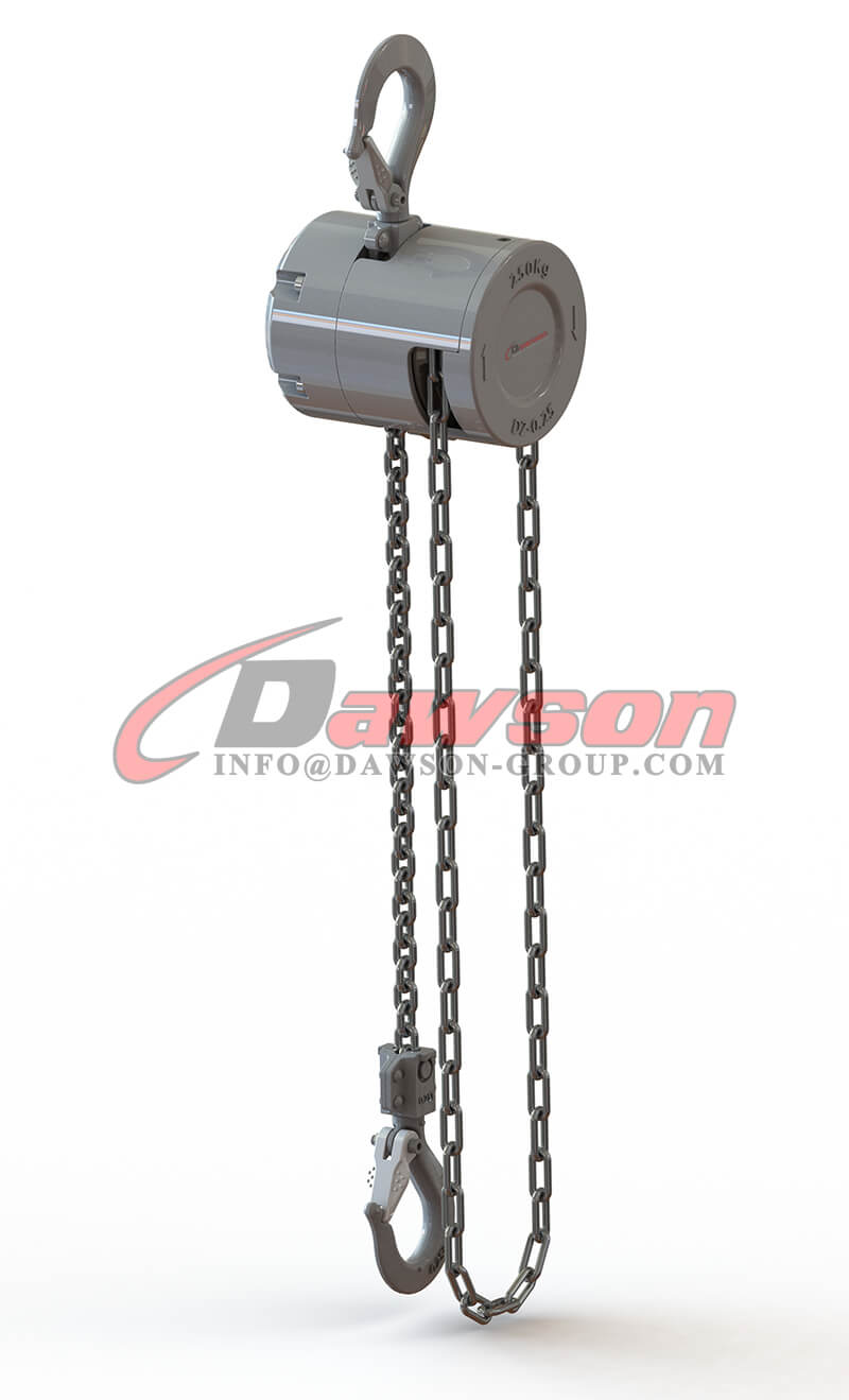 250KG Mini Aluminum Alloy Chain Hoist, Chain Block - Dawson Group Ltd. - China Supplier
