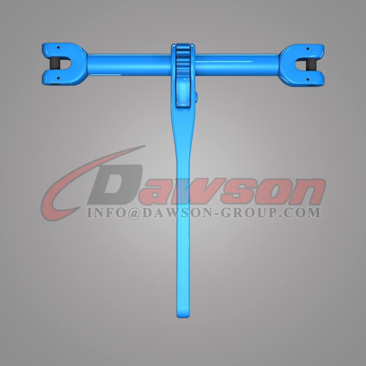 Grade 100 Forged Steel Clevis Type Ratchet Load Binder for Lashing - Dawson Group Ltd. - China Manufacturer, Exporter