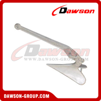 Hot Dip Galvanized Casted Plow Anchor, Plough Anchor