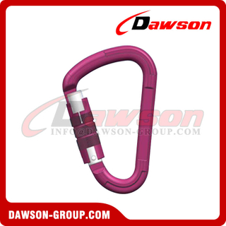DS7107TN Alloy Carabiner Hook, Climb Lock Carabiner