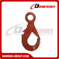 G80 / Grade 80 Special Eye Self-locking Hook for Crane Lifting Chain Slings
