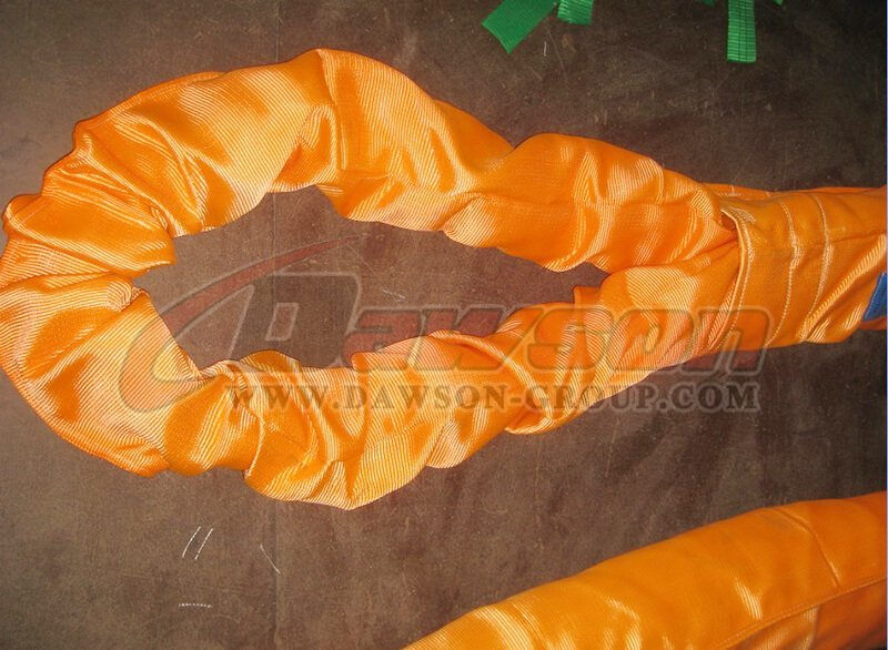 China Dawson WLL 120T Polyester Round Slings Supplier, Factory