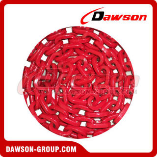 Grade 80 D-Shape Forestry Chain, G80 Welded Forestry Link Chain, Grade 80 Square Link Chain