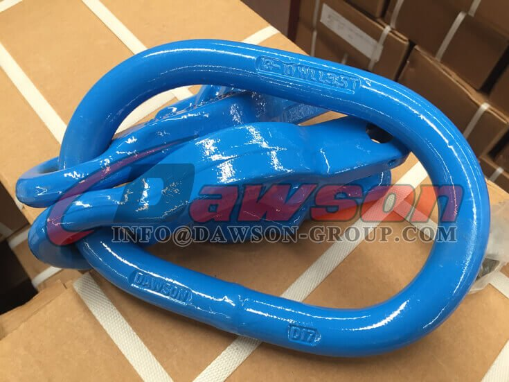 Grade 100 Forged Master Link with 2 Grab Hook - Dawson Group Ltd. - China Supplier
