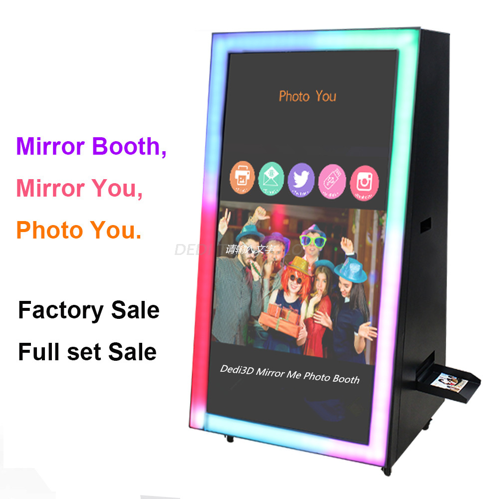 Dedi Long Life Time Portable Digital Printer Smart Magic 3D Mirror Me Photo Booth