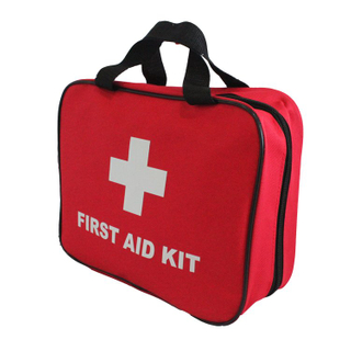 basic adventure canvas first aid kit for home