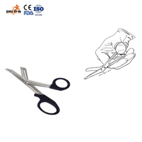 left handed first aid nurse utility scissors