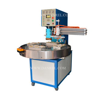 Automatic Rotary Table High Frequency Blister Sealing Machine Cards with Unloader