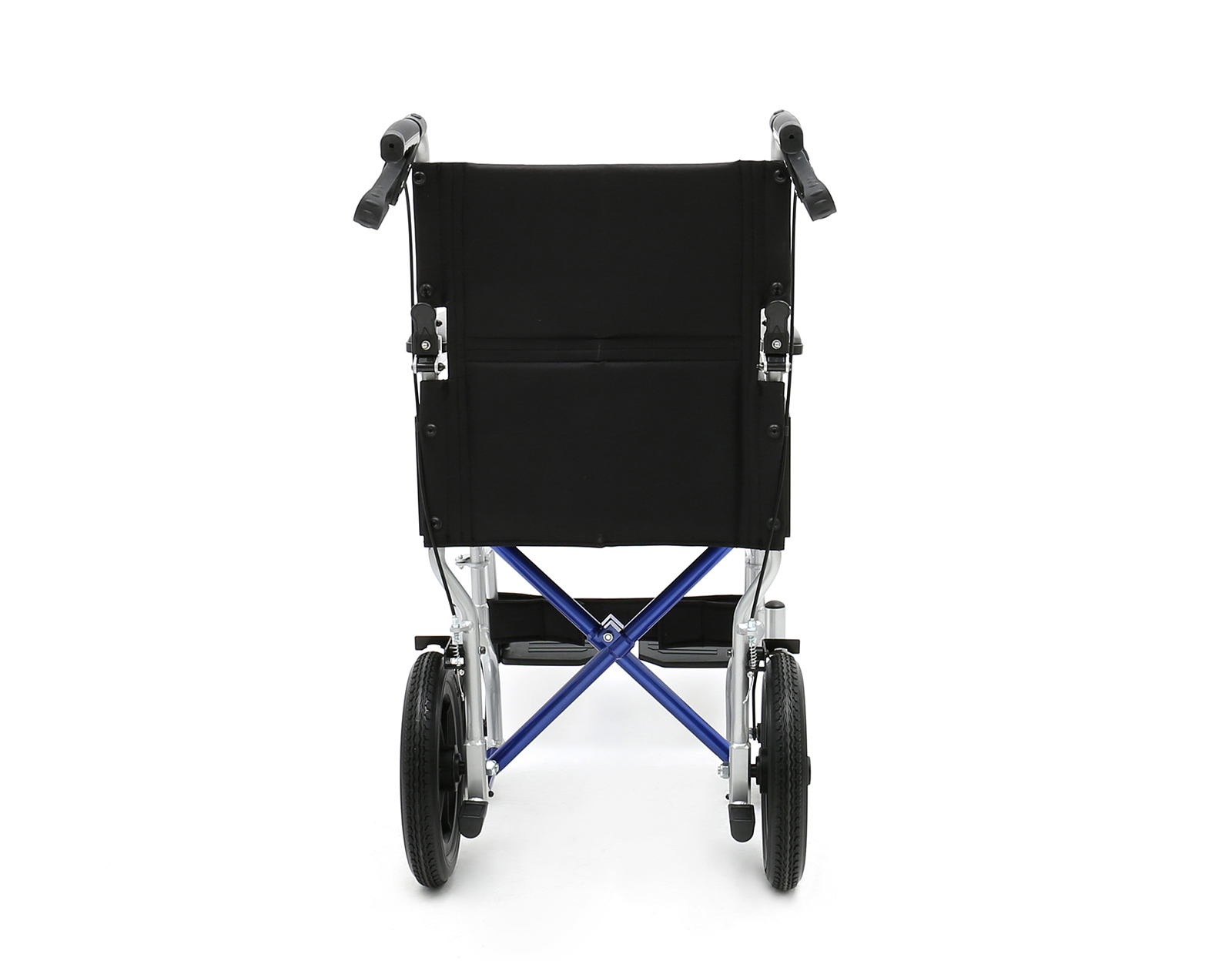 AL-BL03E Aluminum Light Weight Transport Wheelchair with hand brake