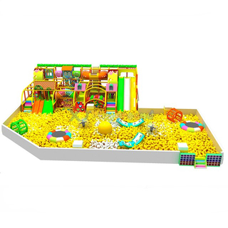 Amusement Park Kids Ball Pit with Soft Play Structure