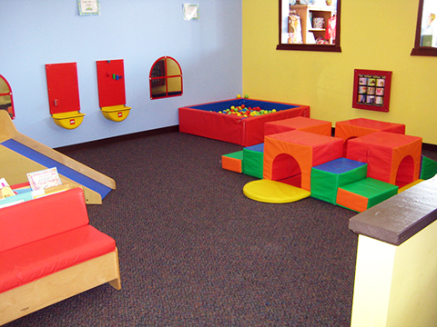 indoor soft toddler play area