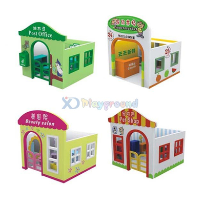 Customized Toddler Area Kids Playhouse on the Square