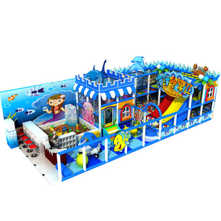 Ocean Theme Small Indoor Toddler Commercial Soft Play Equipment