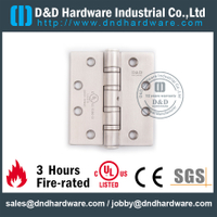 Stainless Steel Grade 304 Four Ball Bearing Door Hinge Certified by UL for Heavy Door-DDSS45446