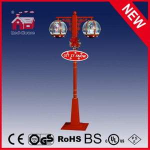 (LV30188DH-RJR11) Red Festival Double Round Shape Christmas Light with LED