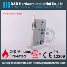 SS304 Roller Bolt Euro Dead Lock for Metal Doors with CE-DDML010