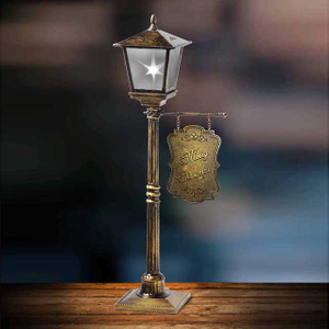 Popular Products 2018- Copper Finished Mini Vertical Table Lamp Decoration